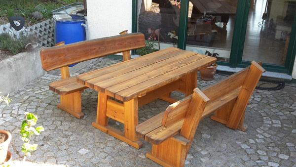 Gartenmöbel Rustikal rustikale gartenmöbel brennholzhandel und spaltservice jan zierold